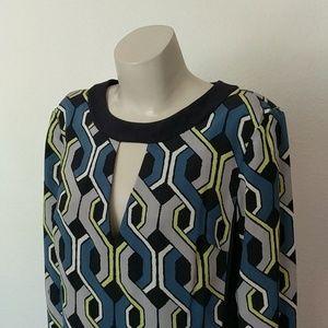 Trina Turk Dresses - Geometric Mod Trina Turk Shift Dress